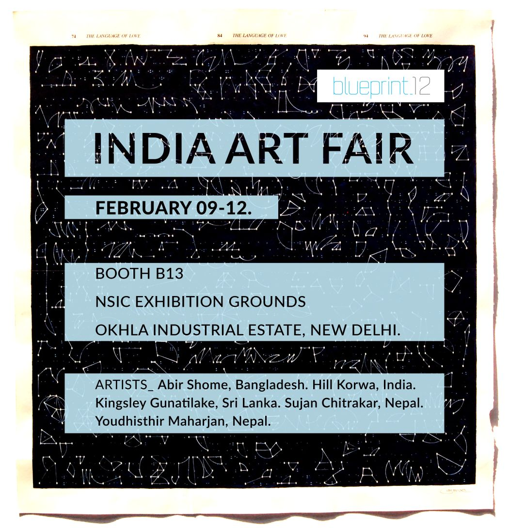 India Art Fair, South Asian Artist, Blueprint12