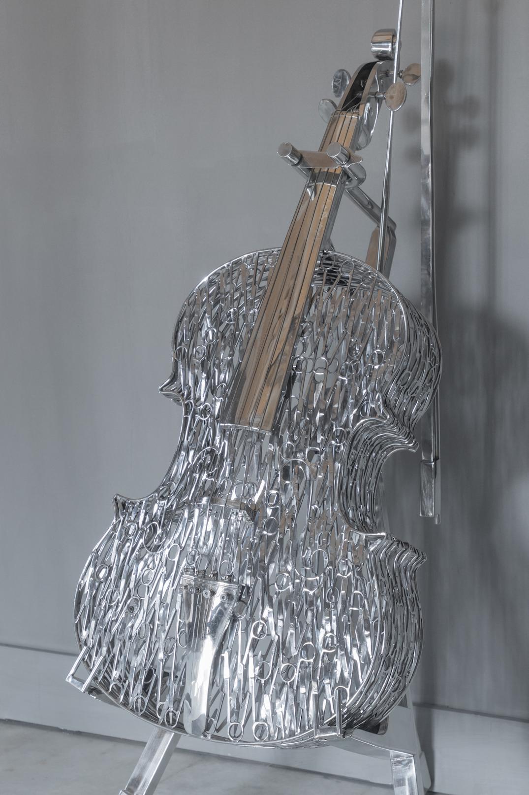 Mahbubur Rahmna, Surgical scissors, sculpture
